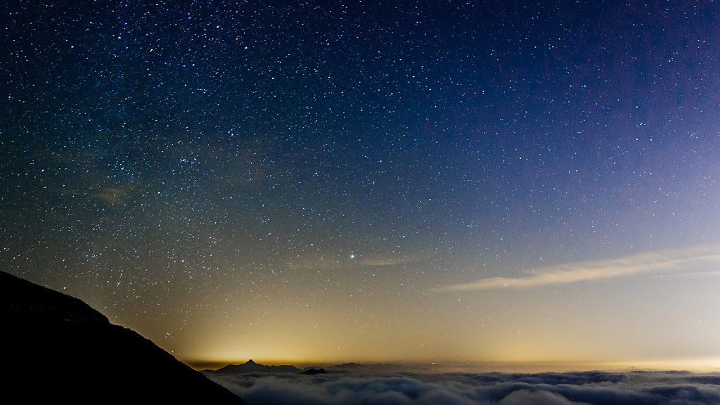 The night sky from Jebel Jais - 24mm f2.8 20 sec at ISO 6400