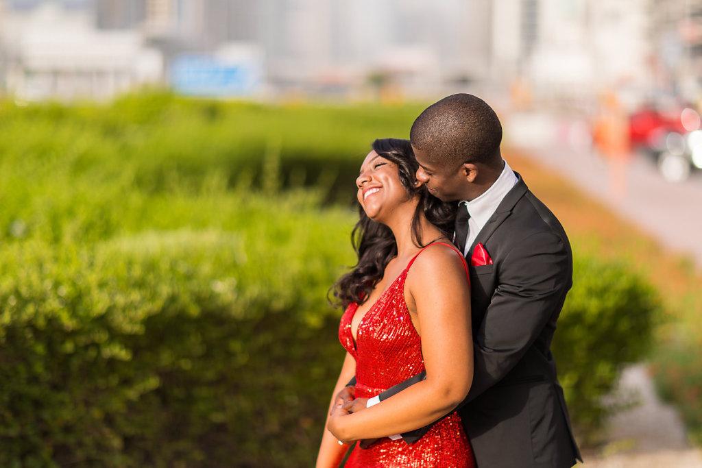Shaikh Zayed Road Dubai Couple photoshoot