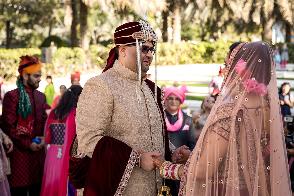 Indian Wedding at Westin Hotel Le Meridien Mina Seyahi Dubai