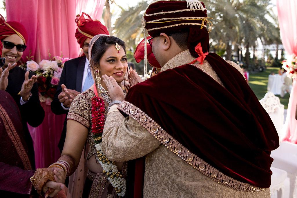 Indian Wedding at Westin Hotel Dubai Le Meridien Mina Seyahi